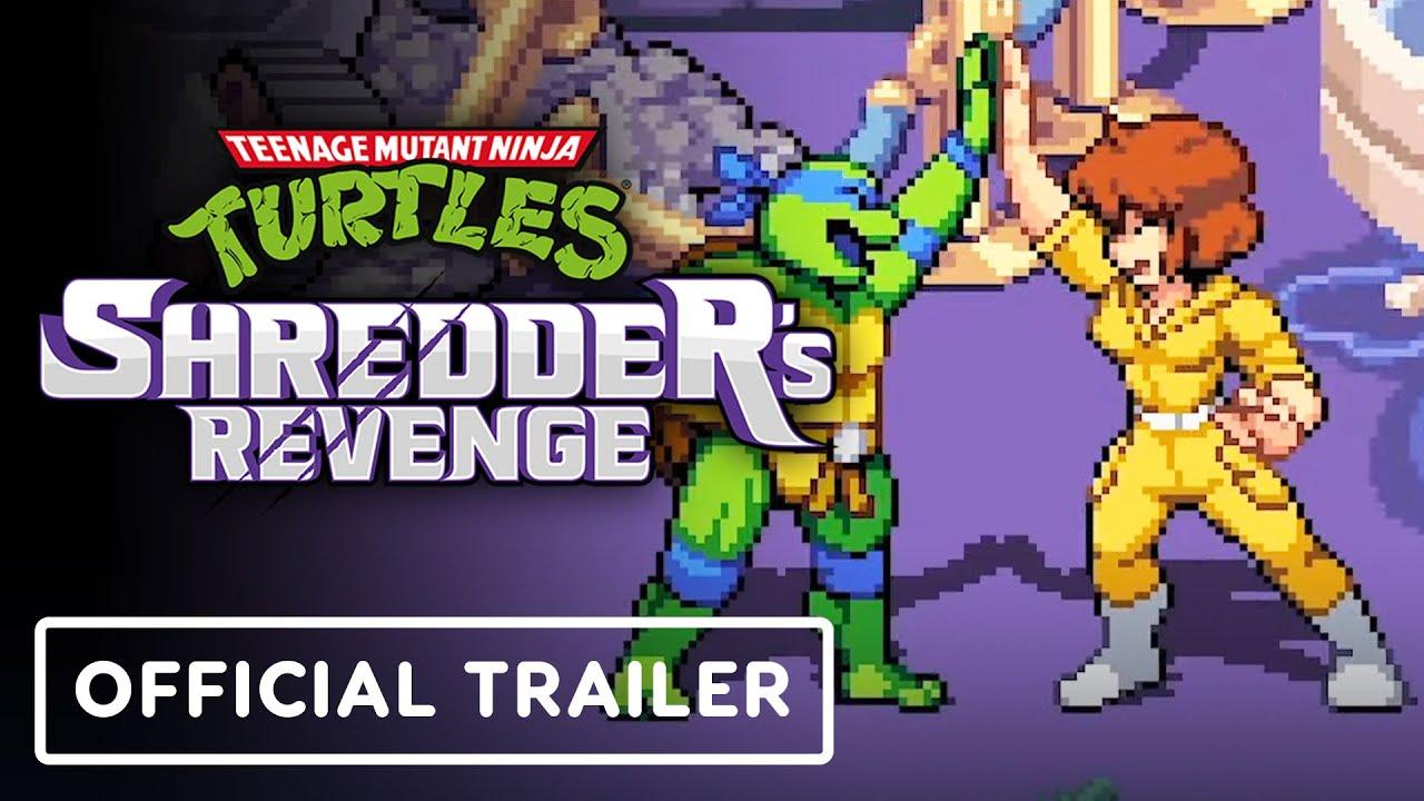 Download Teenage Mutant Ninja Turtles: Shredder's Revenge - Official April O'Neil   gamescom 2021