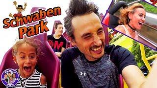 ACTION ACHTERBAHN SPASS im SCHWABENPARK Freizeitpark | FAMILY FUN