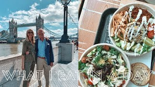 GOING BACK TO HOSPITAL?!   What I Eat In A Day   London With My Parents