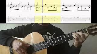 Кубинский танец - Уроки гитары по Skype - Cuban Dance