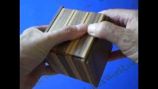 The Unfasten Puzzle Box Designed By Makoto Okada And Produced By Akio Kamei