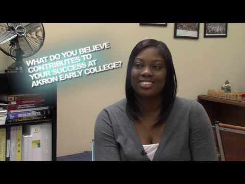 Akron Early College High School Teastimonials