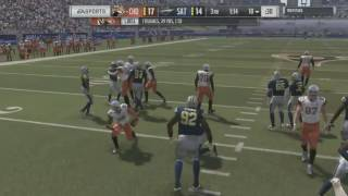 madden 17 ultimate team what kind of play call was that 2 end the game gold digger prank