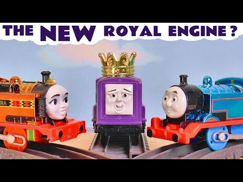 NEW Thomas and Friends Toy Train Story with the Funlings - The Royal Engine