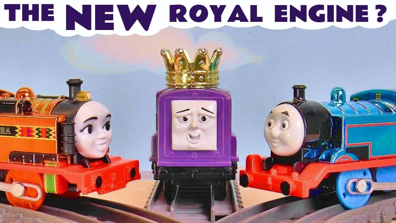 NEW Royal Engine - Thomas and Friends Toy Train Story with the Funlings