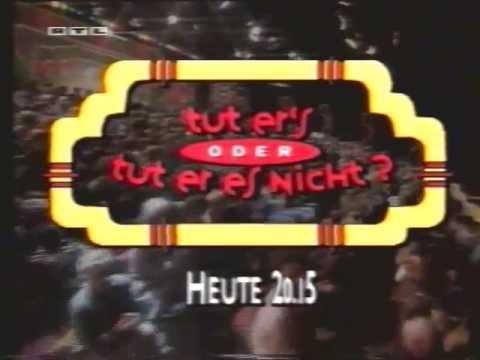 rtl+ Tut ers oder tut er es nicht promo 1993 - YouTube