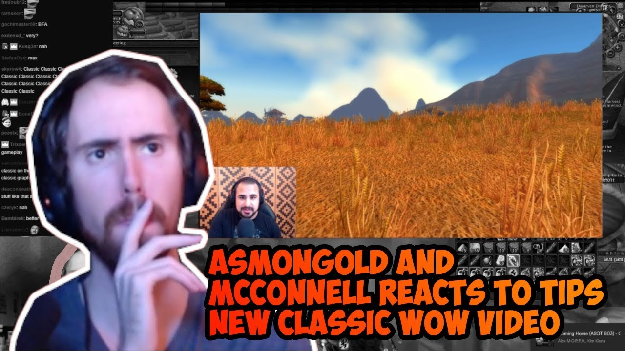 Asmongold and Mcconnell reacts to Tipsout Classic Wow ...