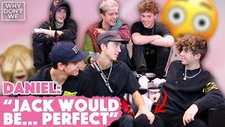 WHY DON'T WE describes ONE ANOTHER using THEIR OWN LYRICS 😂🔥 | INTERVIEW