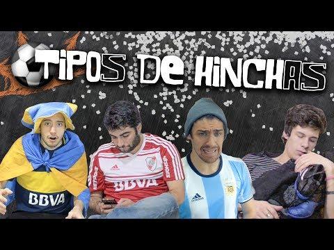 TIPOS DE HINCHAS | Los Displicentes CLONES