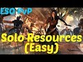 ESO: How to SOLO Resources in Cyrodiil (PvP) Very Easy