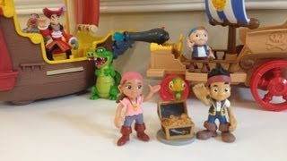Jake And The Neverland Pirates Disney Junior Jake's Never Land Sail Wagon Toy