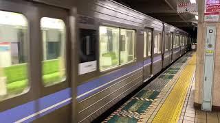 (実車) 地下鉄名城線(名港線) 金山到着