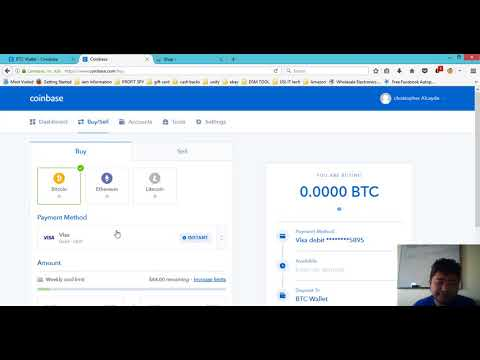 How to Fund Your USI tech Business partner  account using Coinbase video