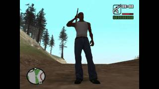 GTA SA Gangsta Walk + NEW CROUCH[Download]