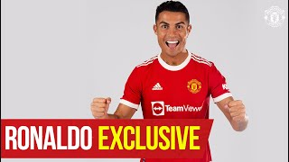 """""""I'm so happy to be back home"""" Cristiano Ronaldo Exclusive Interview"""