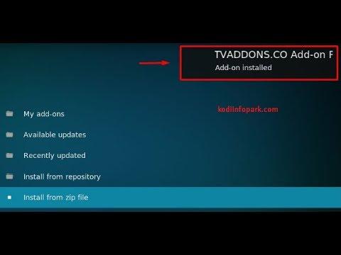 Download Plexus Kodi using TV Addons Repo