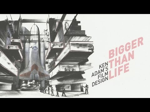"""Bigger than Life - Ken Adam´s Film Design"" Eröffnung Berlin"