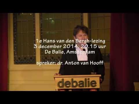 1e Hans van den Bergh lezing door classicus Anton van Hooff in de Balie te Amsterdam