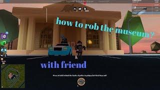 how to rob the roblox jailbreak meseum