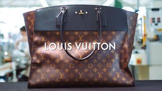 Letters on Leather | The Art of Craftsmanship | LOUIS VUITTON