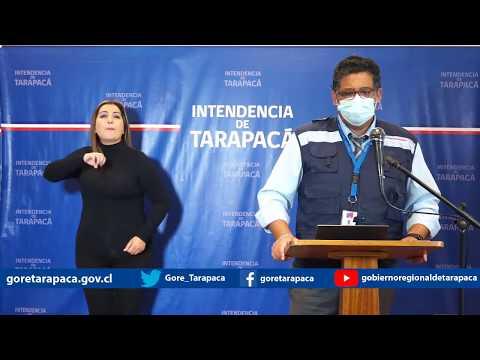 Punto de prensa 02 de julio de 2020 - Gobierno Regional de Tarapacá
