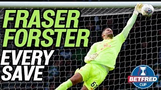 EVERY Fraser Forster Save from the Betfred Cup Final! | Rangers v Celtic | Betfred Cup Final 2019/20