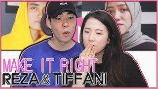 Download lagu JEESUN ORANG KOREA Reza Tiffani Make It Right SUB IDN KOR