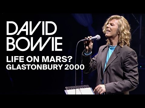 David Bowie - Life On Mars?, Live at Glastonbury (Video Clip)