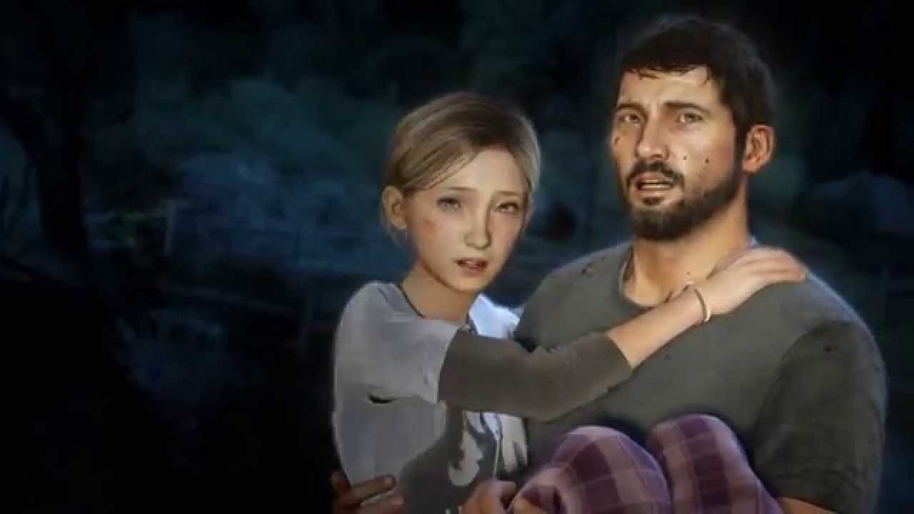 Image result for last of us sarah scene