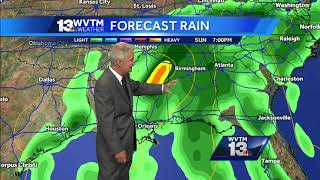 Jerry Tracey's Thursday night update on Tropical Storm Nate