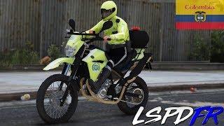 GTA 5 LSPDFR #163 POLICIA DE COLOMBIA [ MOTO ] ORDEN DE ARRESTO   TheAxelGamer