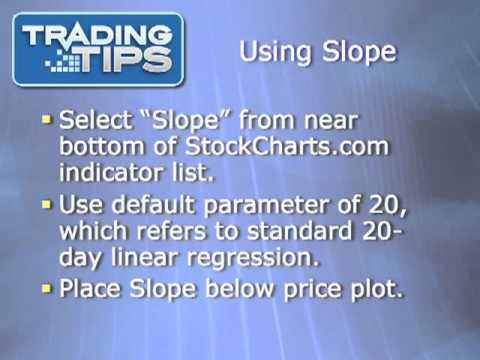 The Slope - How To Use It To Determine Trend Direction