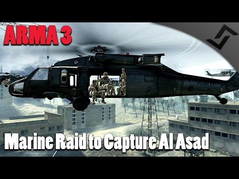 Marine Raid to Capture Khaled Al-Asad - ARMA 3 - CoD 4 Intro