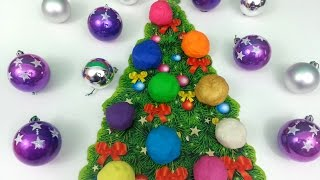 Play Doh Surprise Eggs Christmas Tree Peppa Pig Dora Minnie Mouse Asterix Thumbnail