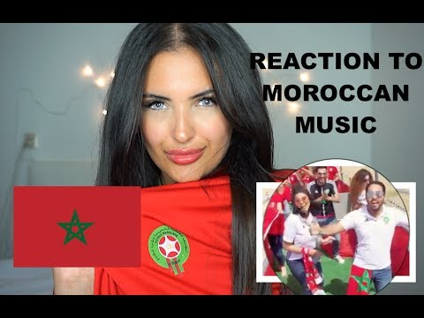 FIRST REACTION TO MOROCCAN POP/RAP MUSIC! (CRAVATA ft SALMA,