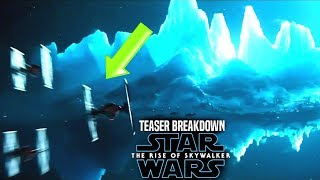The Rise Of Skywalker Teaser Breakdown! New Footage Revealed! (Star Wars Episode 9)