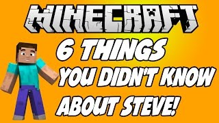 6 things you didn t know about steve in minecraft