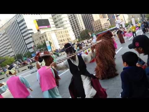 [131013] 2013 Seoul Arirang Festival - Korean Liondance