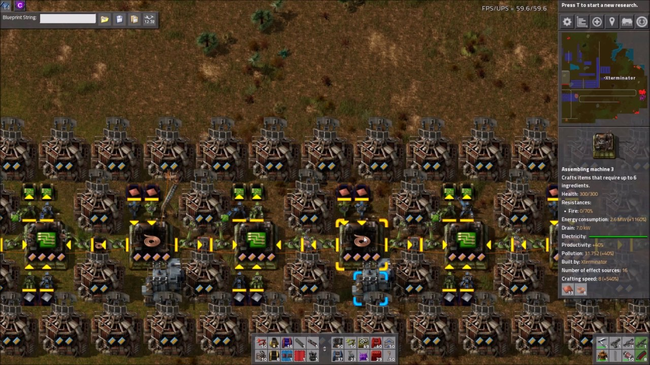 Factorio Workshop   Building A Better Factory :: Xterminatoru0027s Circuit Build