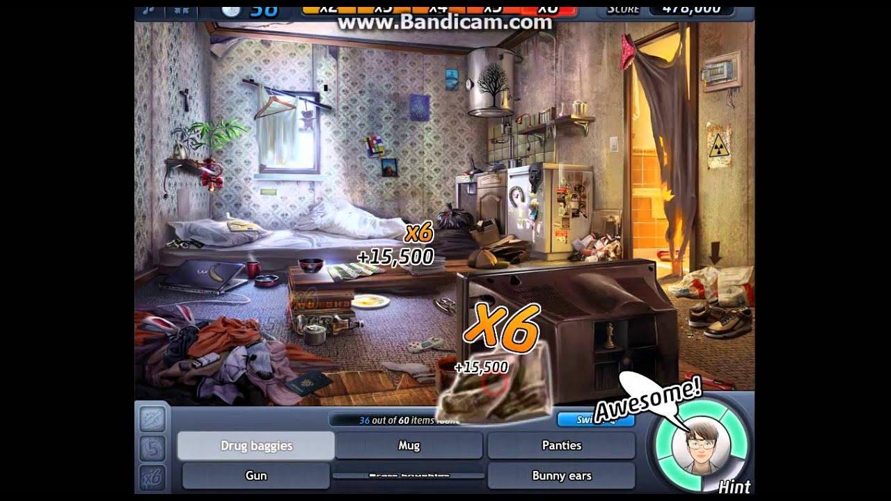 Criminal Case #4 - The Dockyard Killer - Scene 6 - Living Room Bonus ...