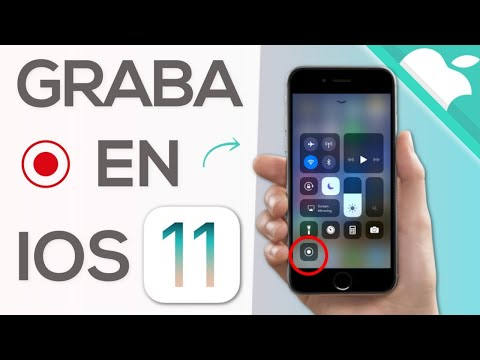 iOS 11 - GRABAR PANTALLA en iPhone
