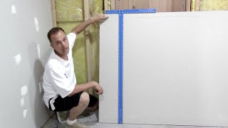 How to cut drywall / Sheetrock