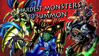 Yu-Gi-Oh - Top 10 Hardest Monsters to Summon