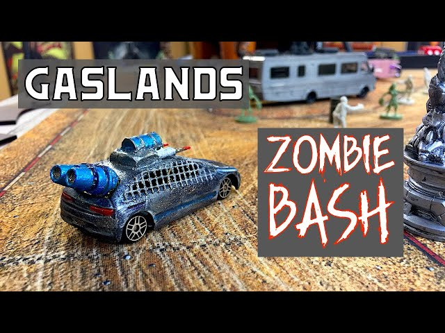 Gaslands Zombie Bash Game