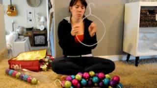Domestic Fashionista: Ornament Wreath