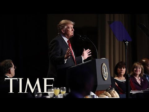 President Trump Delivers Remarks At The 2019 National Prayer Breakfast   TIME