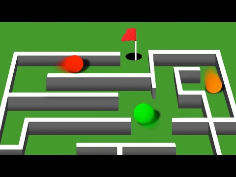 CRAZY GOLF MAZE! (Golf It)