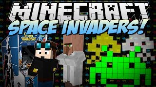 Minecraft | SPACE INVADERS! (Crush the 8-Bit Aliens and Save the World!) | [1.7.2]