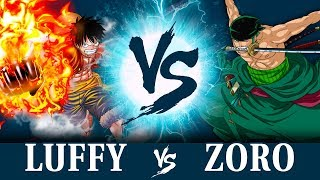 LUFFY VS ZORO!! thumbnail