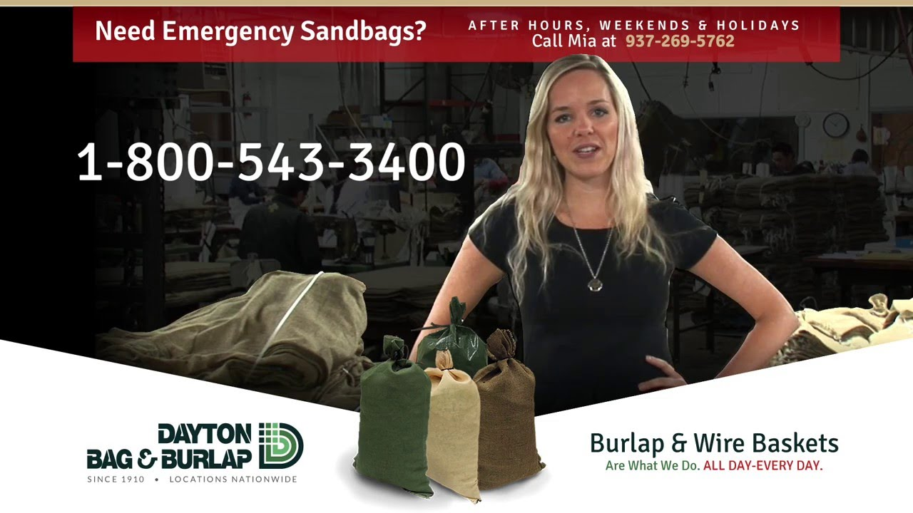 Burlap Bags Rolls And Sandbags Dayton Bag